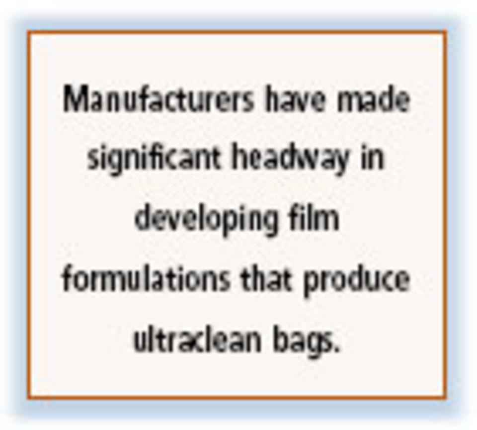 Static-Control Bags Are Clean and Cushiony