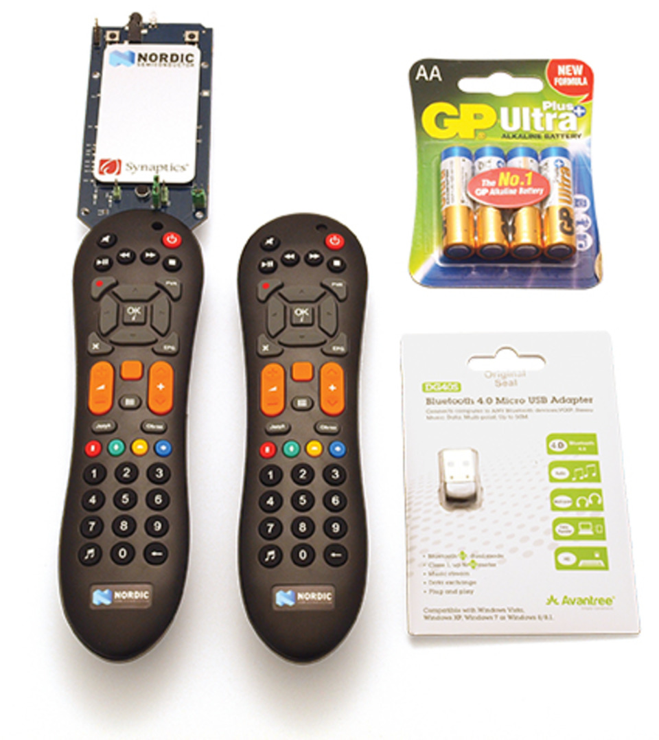 Nordic's offers 'nRFready Smart Remote 3' reference design