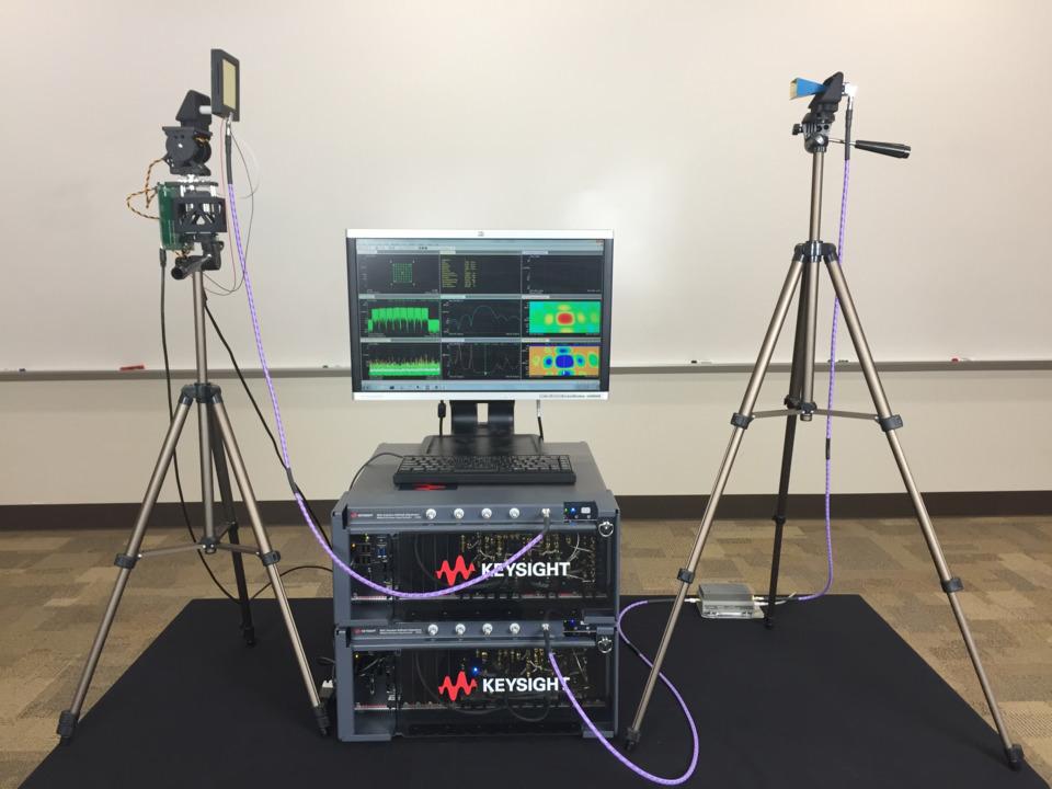 Keysight, UC San Diego demonstrate 28-GHz 5G bidirectional phased array