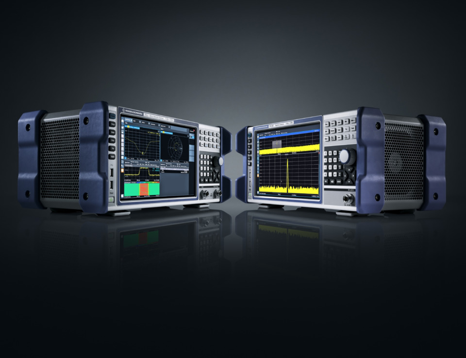 R&S debuts vector network analyzer and spectrum analyzer